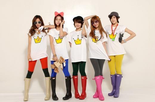 Weekly K-Pop Music Chart 2010 – April Week 1