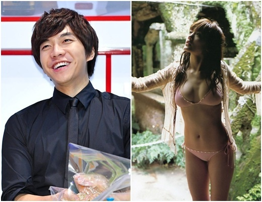 Lee Seung Gi Wants to Film Love Story with Japanese Actress Haruka Ayase