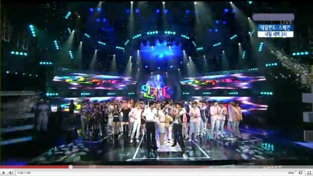 SBS Inkigayo 07.11.10 Performances