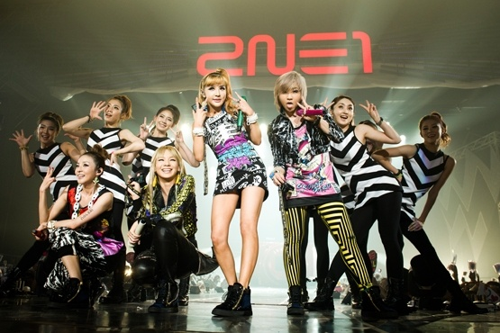 "2NE1 Shares Live Video Performances from ""NOLZA"" Concert"