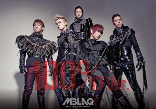 MBLAQ Teaser for 4th Mini Album 100% Ver.