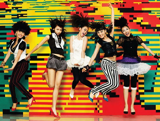 Wonder Girls In Cosmetics CF