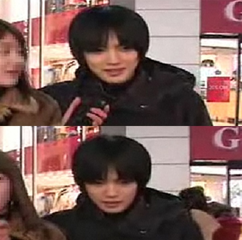 Jaejoong's Pre-Debut Street Interview with his Girlfriend