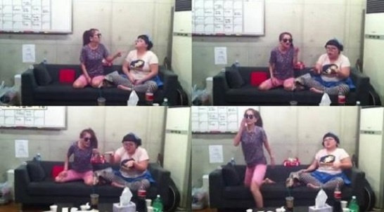 Brown Eyed Girls' Jea Shows How to Play Around in a Recording Studio
