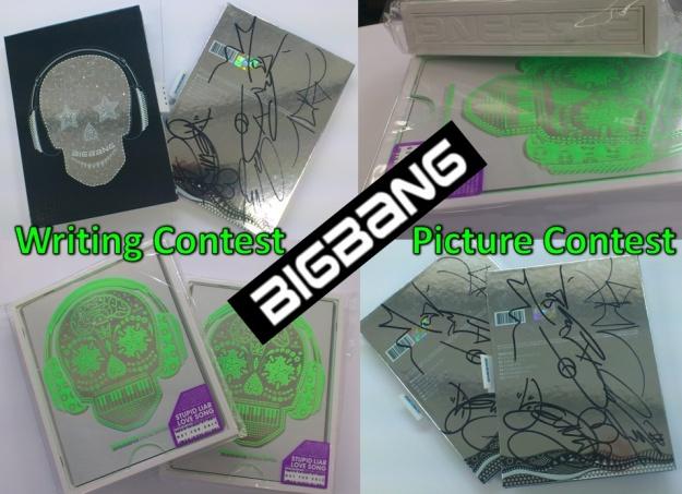Big Bang Signed CD Contest