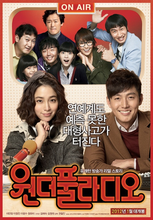 "Lee Min Jung's Film ""Wonder Radio"" Opens at #2 on Box Office"