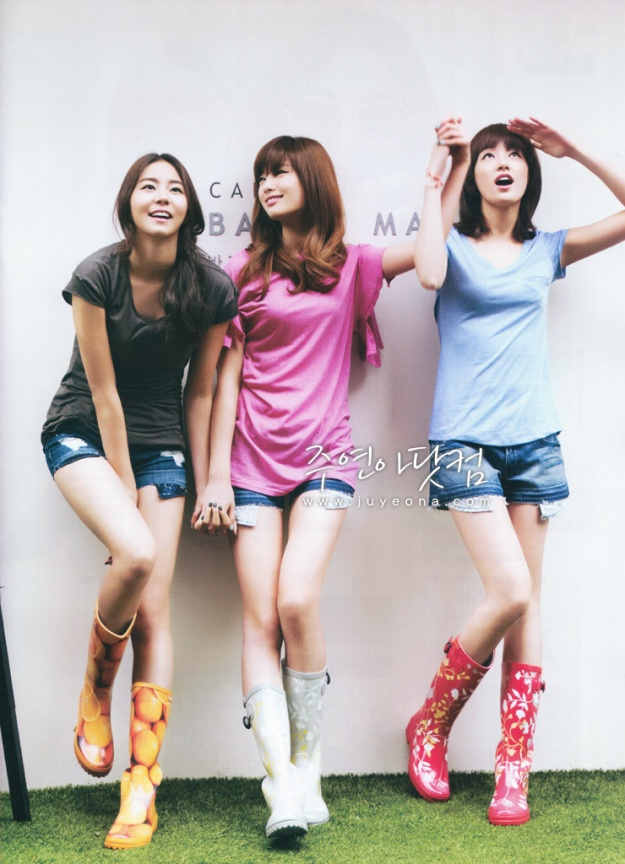 Singles Korea (May '10) (After School)