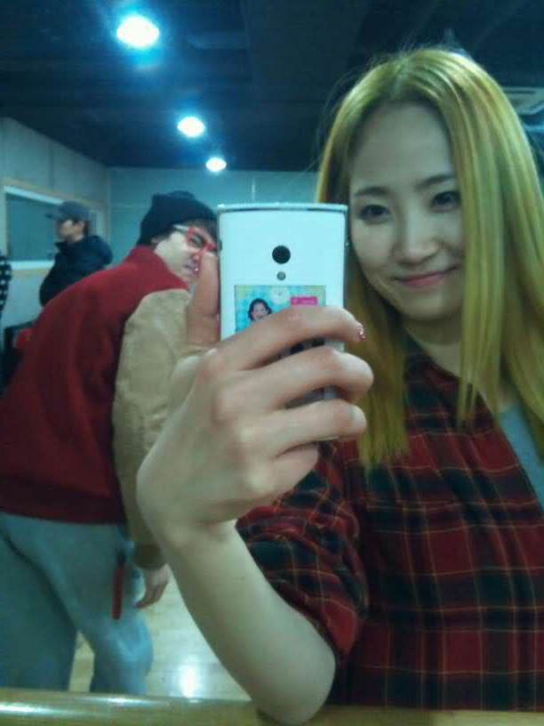 Wonder Girls' Ye Eun Goes Blonde