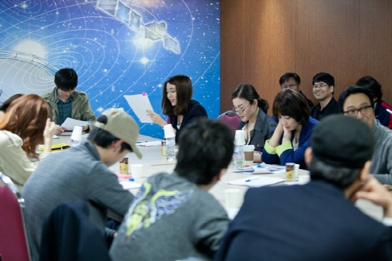 """Gong Yoo, Lee Min Jung, and Miss A's Suzy First Script Reading for """"Big"""""""