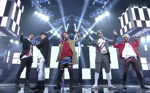 "Big Bang Has Goodbye Performances for ""Fantastic Baby"" and ""Bad Boy"" on Inkigayo"