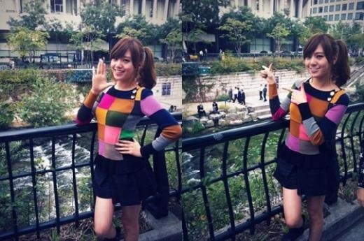 After School's Lizzy Reveals a Cute Picture of Herself