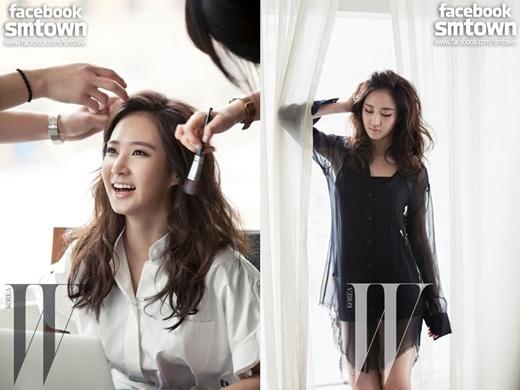"Girls' Generation's Yuri Displays Classy Sexiness for ""W"" Magazine"