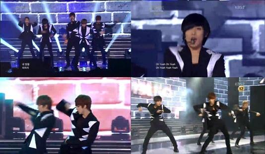 "KBS ""Music Bank"" – April, 6, 2012"
