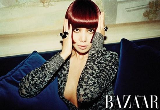 Jeon Do Yeon Reveals Her V-Line for Harper's Bazaar