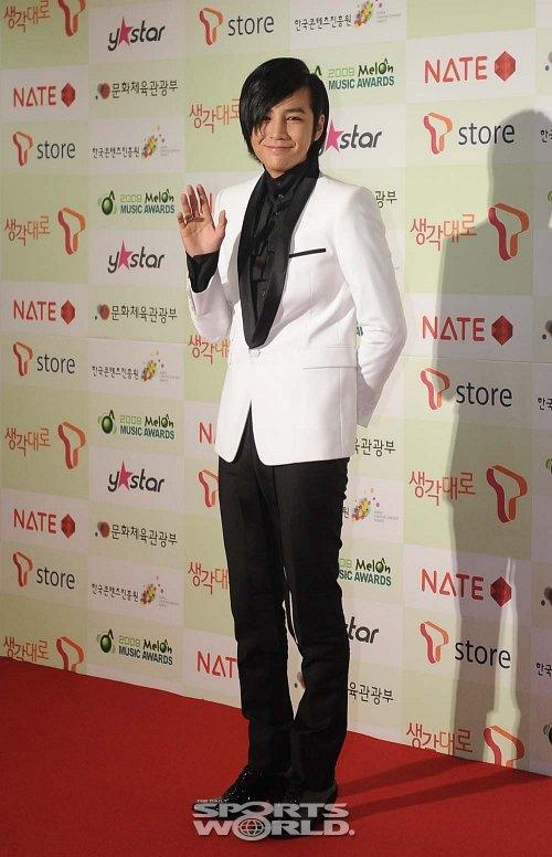 Jang Geun Suk at 2009 Melon Awards – 16Dec2009