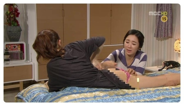 "Baek Jin Hee's Behind Exposed on MBC ""High Kick 3""?"