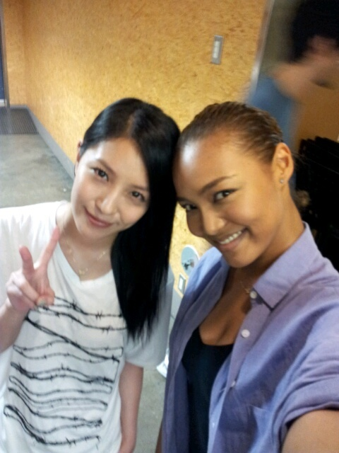 BoA Meets Up with Crystal Kay