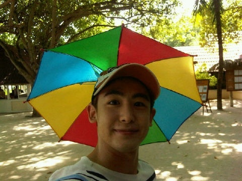 "Nichkhun ""You Can Stay Under My Umbrella Ella Ella"""