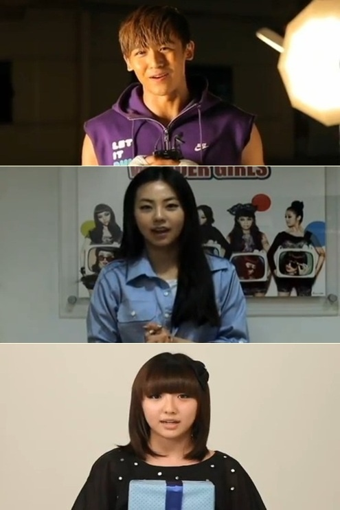 Nickhun, Sohee, and Min: Birthday Charity
