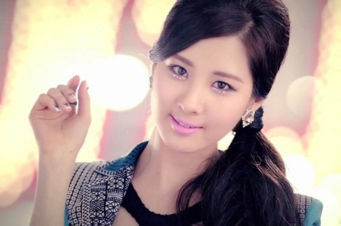 Girls' Generation Seohyun Visits Former Idol Star Ock Joo Hyun