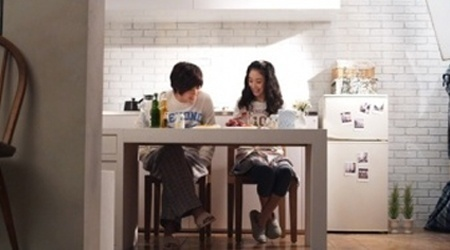 Kim Hyun Joong And Jung Ryeo Won In Gummy's New MV