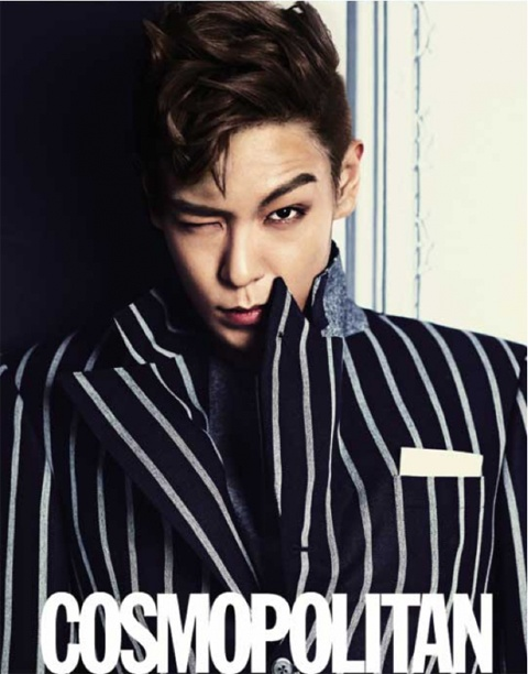 "Big Bang TOP Graces the Cover of ""COSMPOLITAN"""