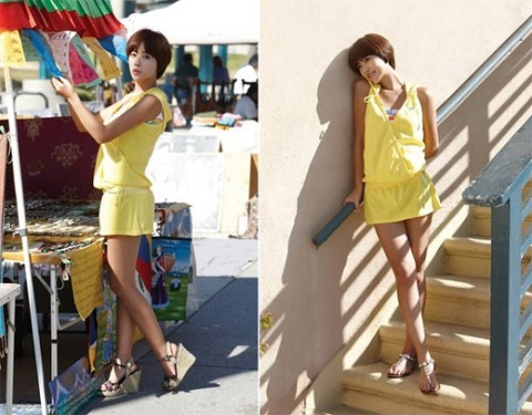 Hwang Jung Eum's Sizzling Hot Summer Catalogue For Skechers