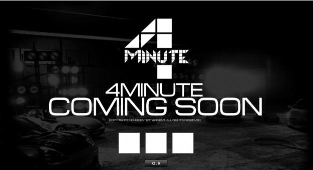 4Minute's Comeback Teaser Photos
