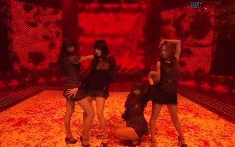 """miss A Performs """"Touch"""" on Inkigayo"""