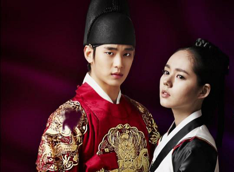 """Kim Soo Hyun, Jung Il Woo, and Others Film """"The Moon that Embraces the Sun"""""""