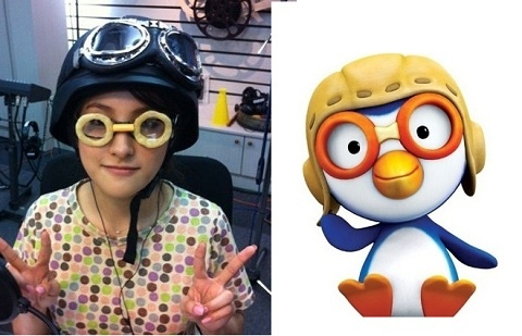 Park Gyu Ri Transforms Into Pororo?!