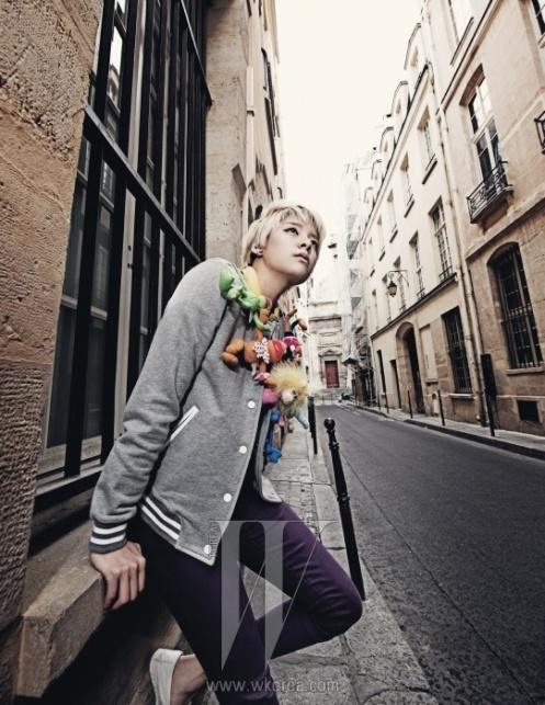 SM Artists for W Korea (July '11)