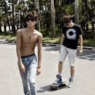 EXO-K's Kai Exposes Sexy Abs in Calvin Klein Jeans Pictorial