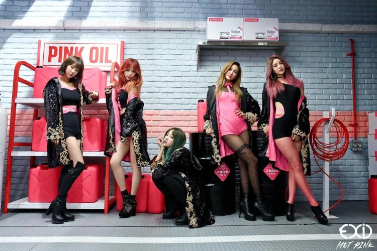 """El video """"Hot Pink"""" de EXID superó los 10 millones de visitas"""