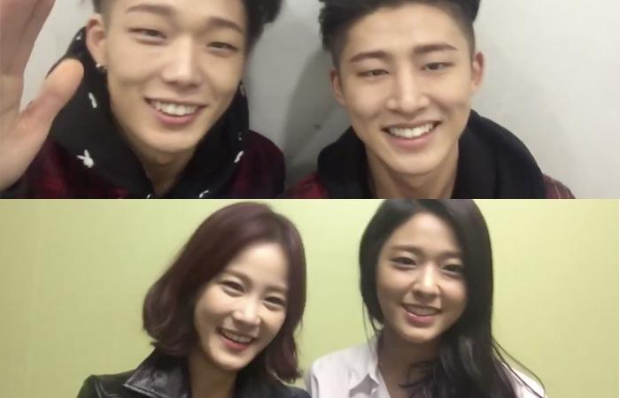 """Bobby y B.I de iKON, Seolhyun de AOA y Kim Ji Min, muestran emoción por el especial de """"Running Man"""""""