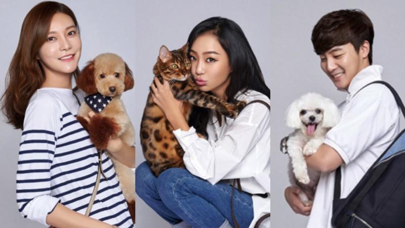 """Celebridades posan con sus mascotas para la revista """"InStyle"""""""