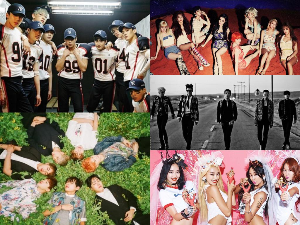 Naver revela el Top 10 de canciones del 2015 por grupos de edades
