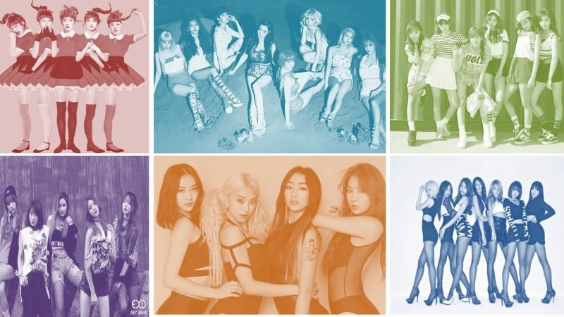 Girls' Generation domina las listas de Gaon 2015 de los grupos de K-Pop femeninos