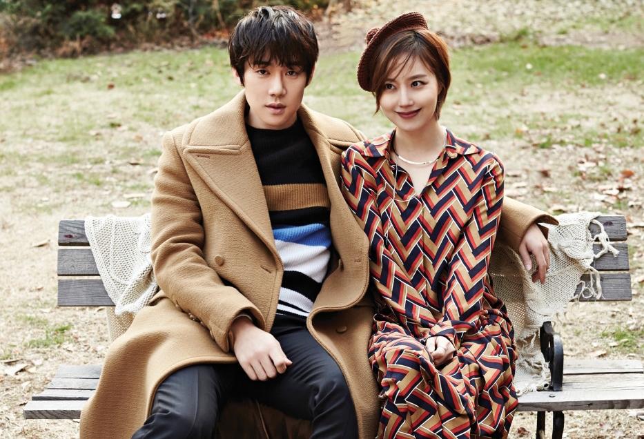 """Yoo Yeon Seok y Moon Chae Won son una romántica pareja en sesión para """"Vogue"""""""