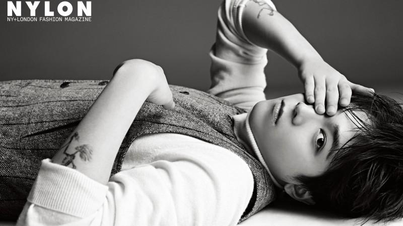 Lee Hong Ki habla sobre su álbum en solitario con revista de moda Nylon