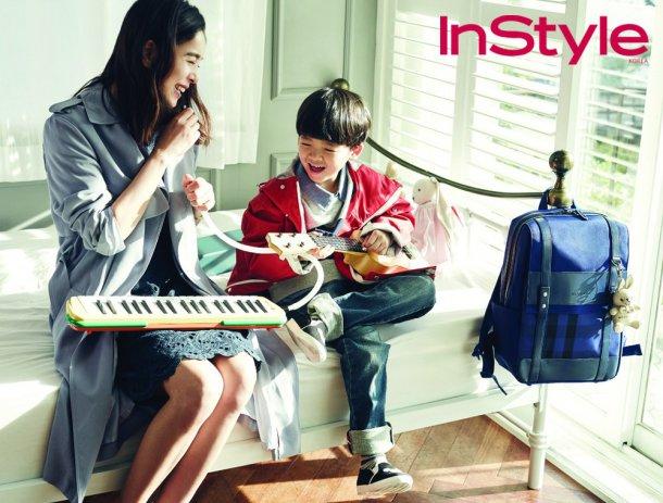 """Jung Hye Young luce como la madre perfecta en sesión para """"InStyle"""""""