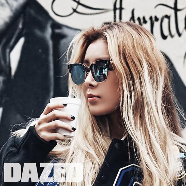 """Yubin revela encantadora sesión fotográfica para la revista """"DAZED Korea"""""""