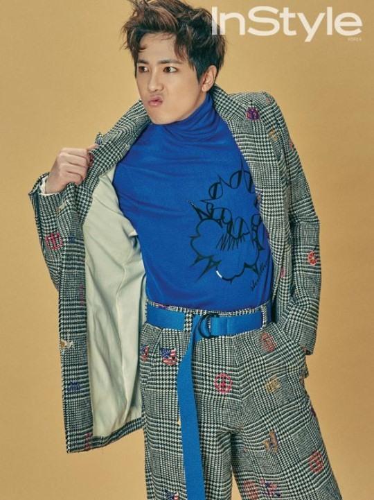 """Lee Hong Ki muestra su moda extravagante para la revista """"InStyle"""""""