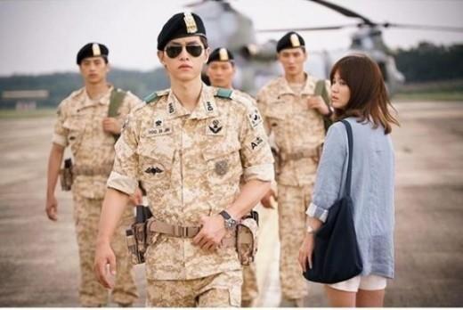 """Song Joong Ki y Song Hye Kyo terminan la filmación de """"Descendants of the Sun"""""""