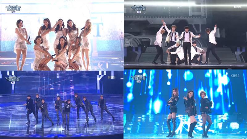 """Presentaciones del """"2015 KBS Song Festival"""""""