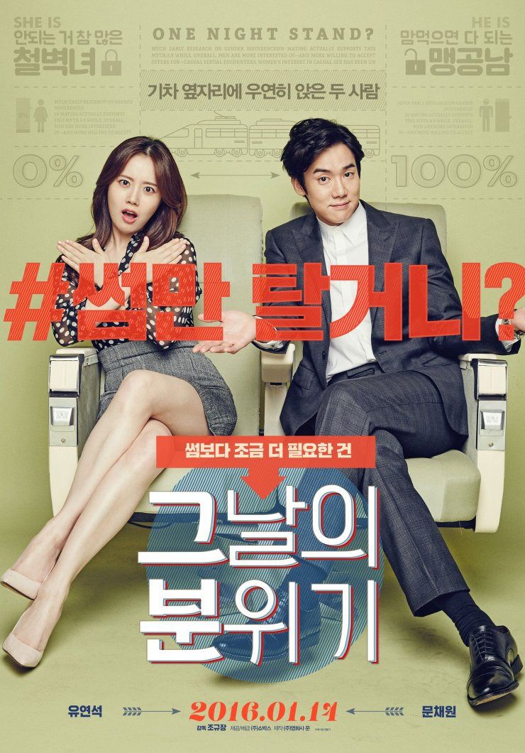 "Se revelan fotos y trailer de la película ""Mood of the Day"" con Yoo Yeon Seok y Moon Chae Won"
