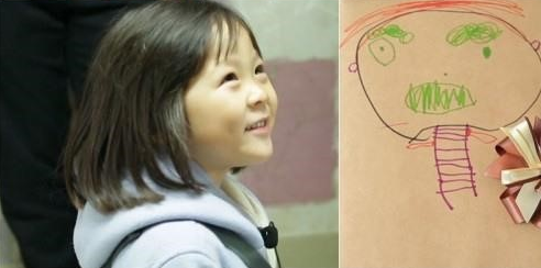 "Sarang saca su artista interior en ""The Return of Superman"""