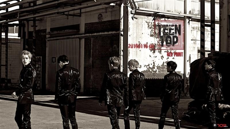 """Teen Top revela la lista de canciones de su nuevo álbum, """"Red Point"""""""