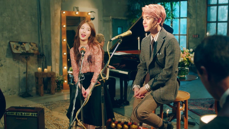 "Suzy de miss A y Baekhyun de EXO lanzan video musical de ""Dream"""