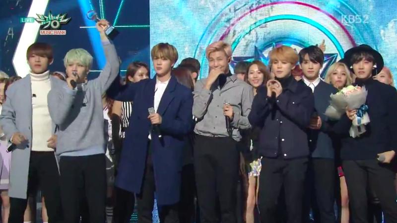 """BTS obtiene su 5ta victoria para """"Run"""" en """"Music Bank"""", presentaciones de Dal Shabet, Lucky J y más"""